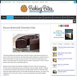 Banana Buttermilk Chocolate Cake
