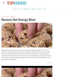 Banana Oat Energy Bites