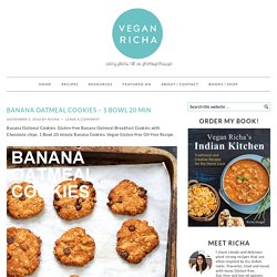 Banana Oatmeal Cookies - 1 Bowl 20 min