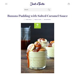 Banana Pudding with Salted Caramel Sauce