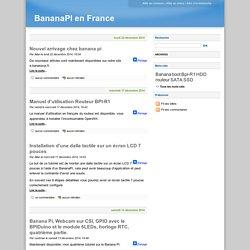 BananaPI en France