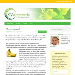 Vaidya Mishra's Ayurveda Knowledge Blog
