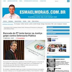 Bancada do PT tenta barrar na Justiça golpe contra Defensoria Pública
