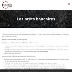 Les prêts bancaires - Carmine Capital