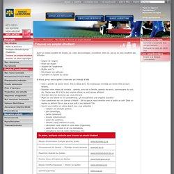 Trouver un emploi étudiant (Banque laurentienne)