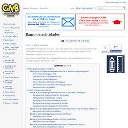 Banco de actividades - CNB