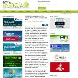 Colbún, Enersis y Bancolombia Lideran Acciones Más Rentables del MILA