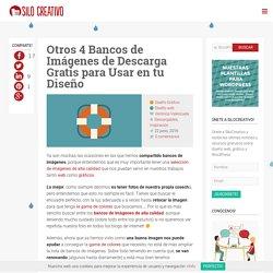 Otros 4 Bancos de Imágenes de Descarga Gratis para Usar en tu Diseño