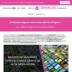 40 bancos de imágenes GRATIS de Alta Resolución para tu web