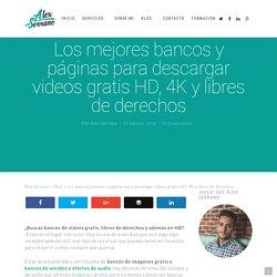 ⓯ Bancos y páginas para descargar videos【GRATIS】HD y 4K