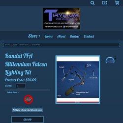 Bandai TFA Millennium Falcon Lighting Kit