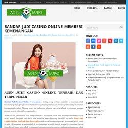 Bandar Judi Casino Online Memberi Kemenangan