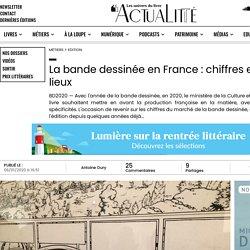 La bande dessinée en France : chiffres et état des lieux