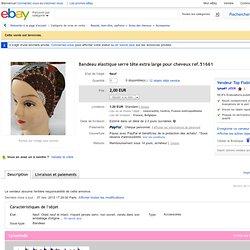 Bandeau Élastique Serre Tête Extra Large Pour Cheveux REF 51661