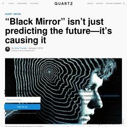 "Black Mirror's ""Bandersnatch"" creates the future, not predicts it"