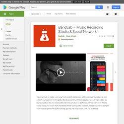 BandLab — Création musicale et studio