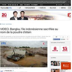 Bangka, l'île indonésienne sacrifiée au nom de la poudre d'étain