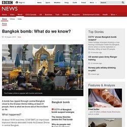 Bangkok bomb: What do we know? - BBC News