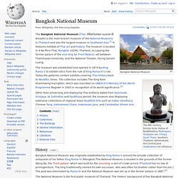 Bangkok National Museum - Wikipedia