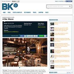 Bangkok bars and clubs, nightlife