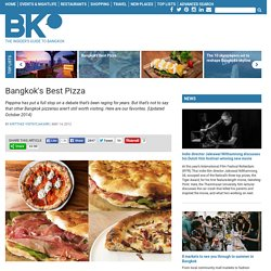 Bangkok's Best Pizza