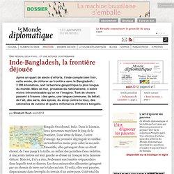 Inde-Bangladesh, la frontière déjouée, par Elizabeth Rush