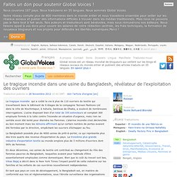 Au Bangladesh, les 110morts accablants d'une usine textile