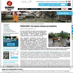 BANGLADESH : Une réponse commune aux inondations