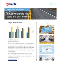 U.S. Bank Freight Payment Index