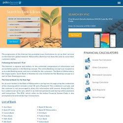 Know Bank of Maharashtra Address, IFSC Code, MICR Code