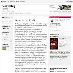Bankenprotest: Grenzen der Kritik