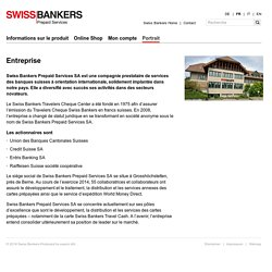 Swiss Bankers Prepaid Services - Entreprise