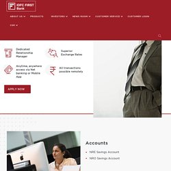 NRI Services - IDFC FIRST Bank
