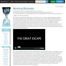 Banking Blockade