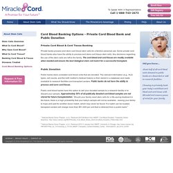 What Are Public Cord Blood Banks And How Do They Work?