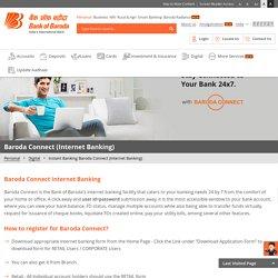 Online Internet Banking & E Banking Services at Bank of Baroda