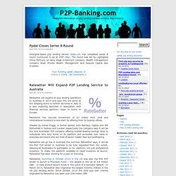 P2P-Banking.com - P2P Lending News and Peer to Peer Microfinance