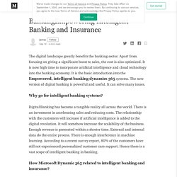 Banking Empowering Intelligent Banking and Insurance