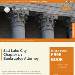 Salt Lake City Chapter 13 Bankruptcy Attorney