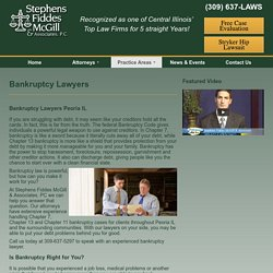 Bankruptcy Lawyers - Stephens Fiddes McGill