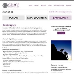 Bankruptcy Attorneys St. Pauls, MN
