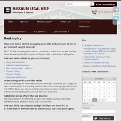 bankruptcy lawyers in missouri