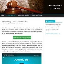 Bankruptcy Vancouver WA