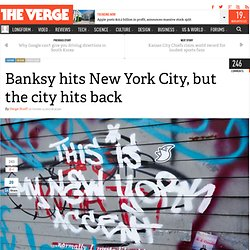 Banksy hits New York City, but the city hits back