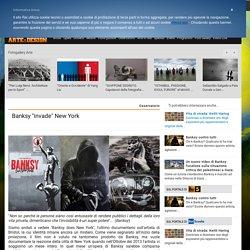 """Banksy """"invade"""" New York"""