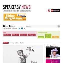 Banksy Portrays Nurse as a Superhero – Speakeasy News