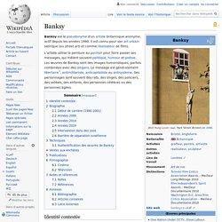 Biographie de Banksy