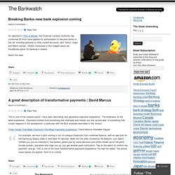 The Bankwatch