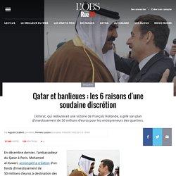 Qatar et banlieues: les 6 raisons d'une soudaine discrétion