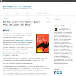 "Banned Books Awareness: ""I Know Why the Caged Bird Sings"""